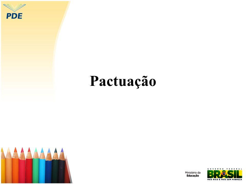 Pactuação