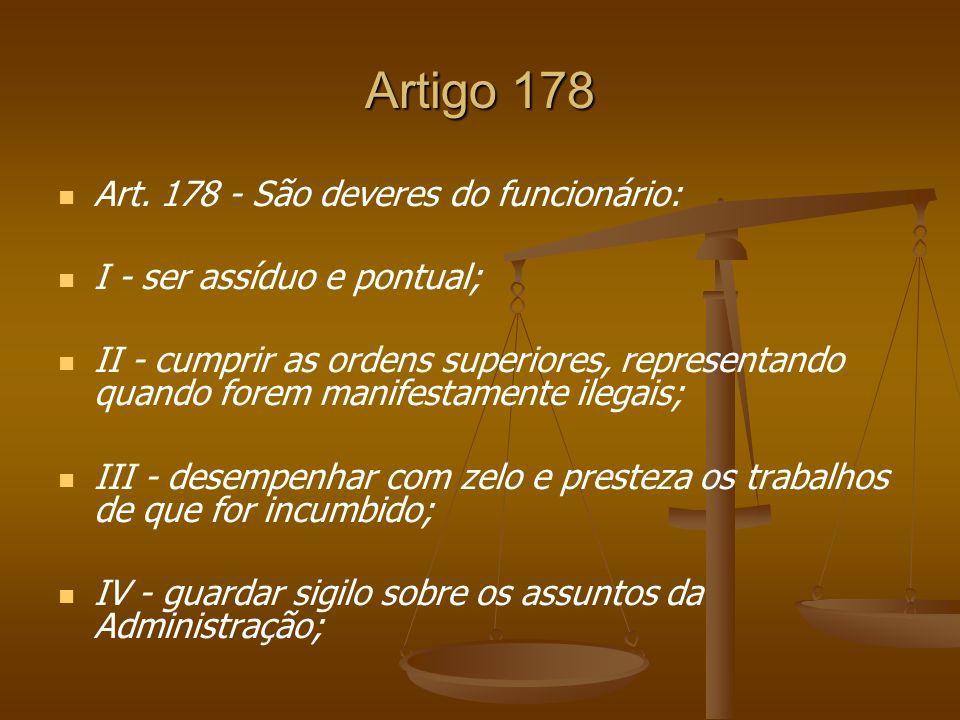 Artigo 178 Art.