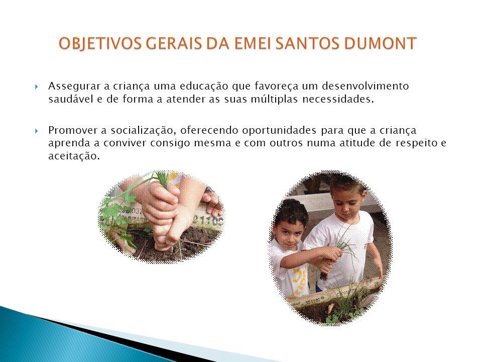 Assegurar a criança uma educação que favoreça um desenvolvimento saudável e de forma a atender as suas múltiplas necessidades. Promover a socialização