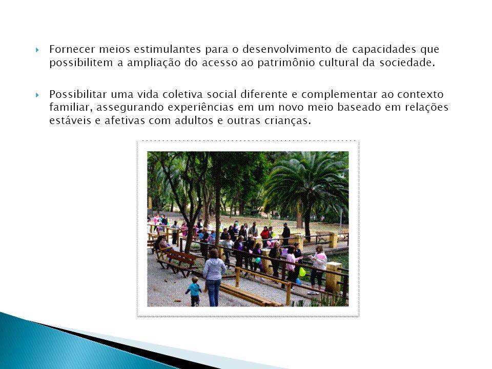 Fornecer meios estimulantes para o desenvolvimento de capacidades que possibilitem a ampliação do acesso ao patrimônio cultural da sociedade. Possibil