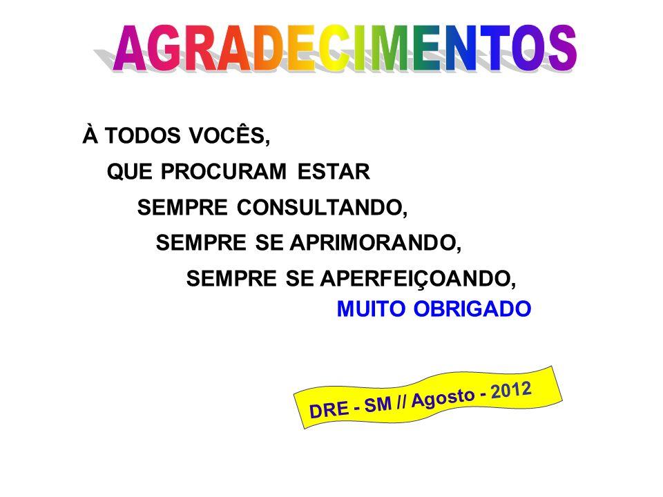KIT APURAÇÃO PRELIMINAR ESTARÁ DISPONÍVEL NO PORTAL DA DRE/SM A PARTIR DE 20/08/2012