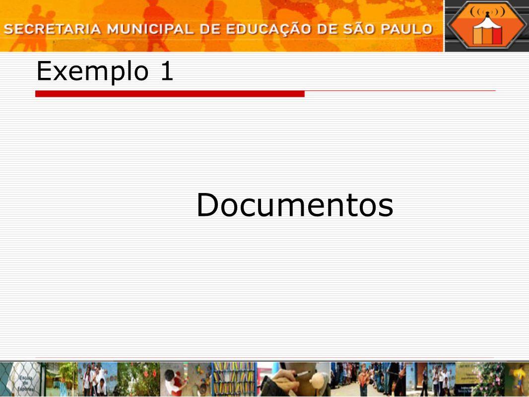 Exemplo 1 Documentos