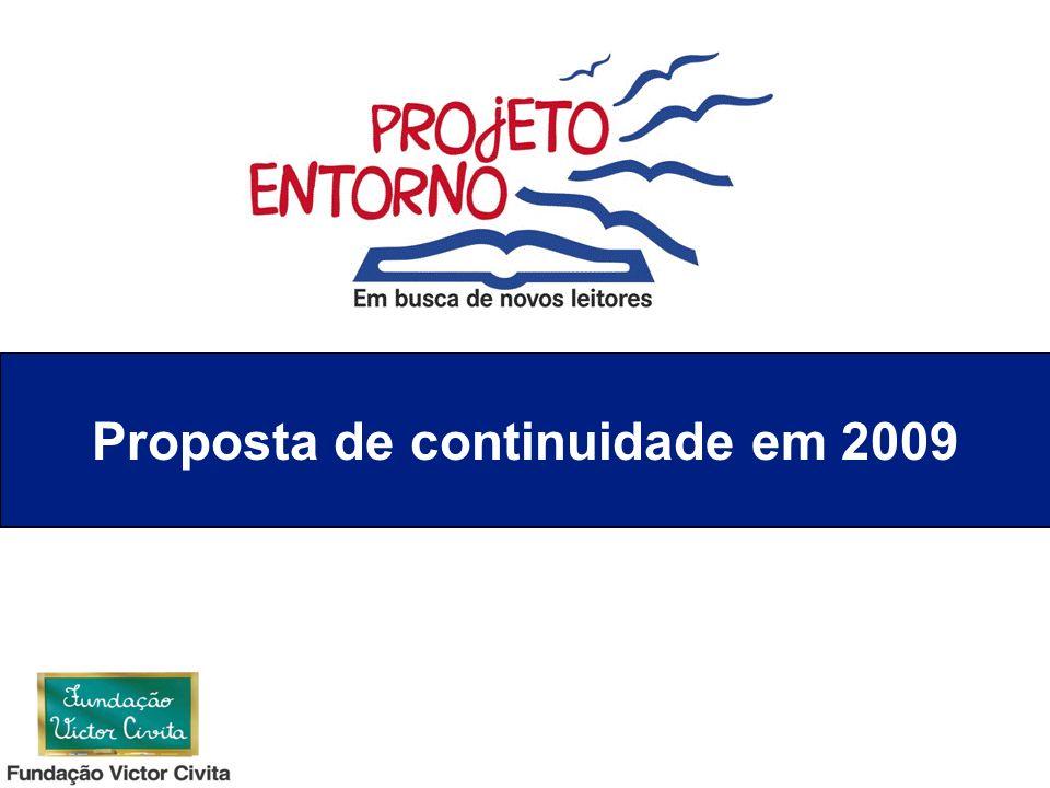 Proposta de continuidade em 2009