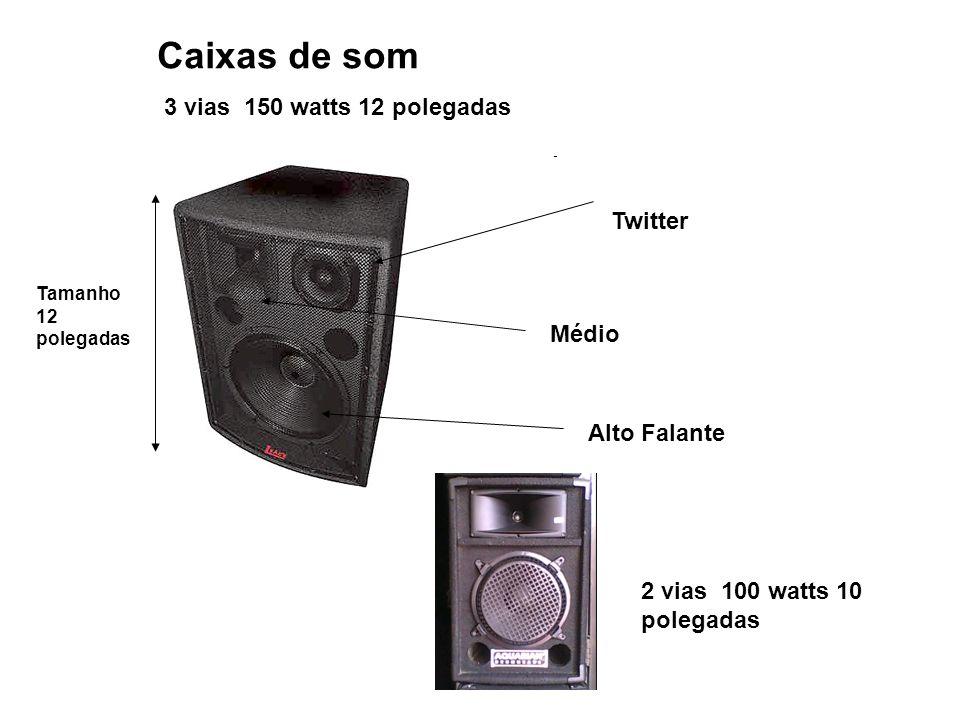 Caixas de som 3 vias 150 watts 12 polegadas Twitter Médio Alto Falante Tamanho 12 polegadas 2 vias 100 watts 10 polegadas