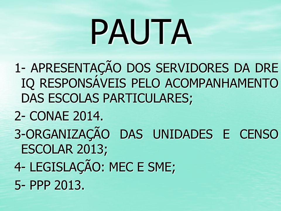 Censo Escolar 2013 PORTARIA Nº 138, de 04 de abril de 2013- MEC Abertura do Sistema Educacenso na Internet para entrada de dados.