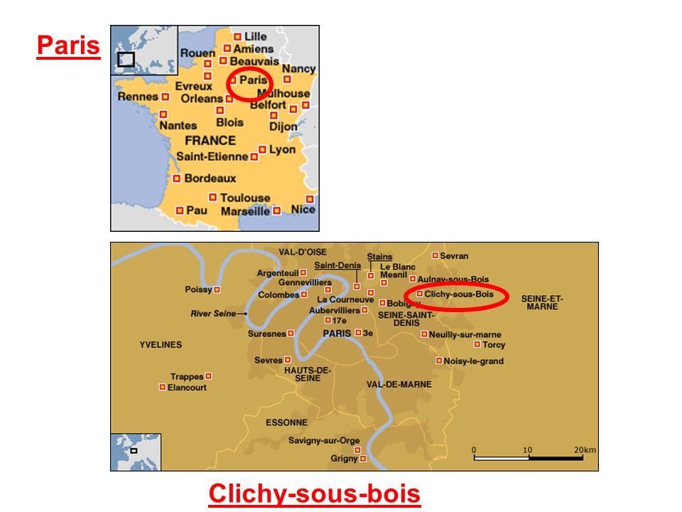 Clichy-sous-Bois possui 28 274 habitantes.38,6 % são maiores de 20 anos e menores de 25.