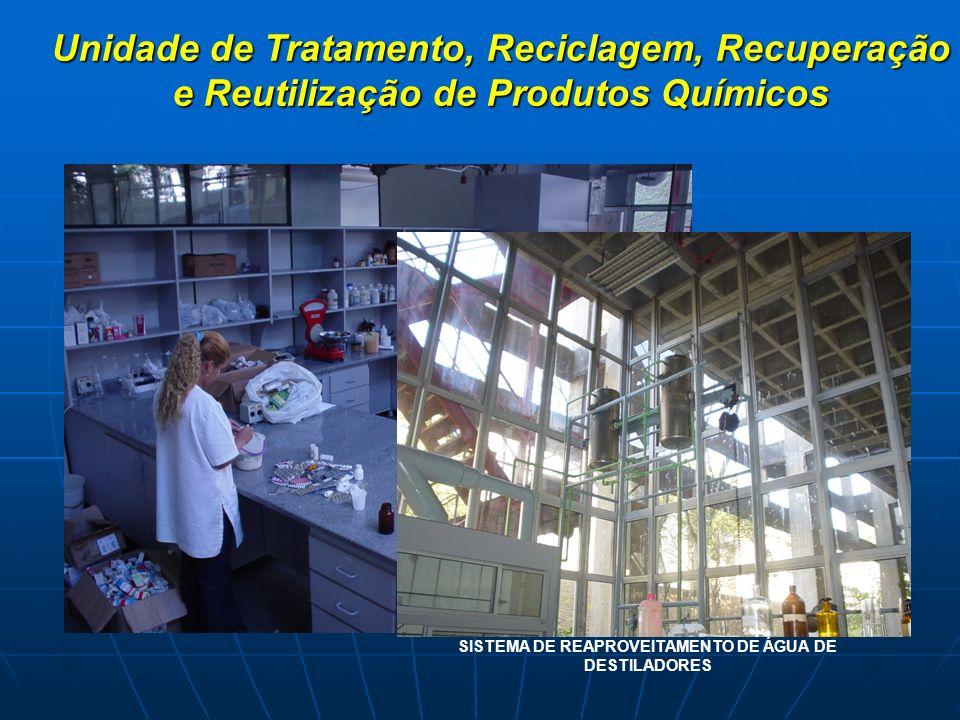 SISTEMA DE REAPROVEITAMENTO DE ÁGUA DE DESTILADORES