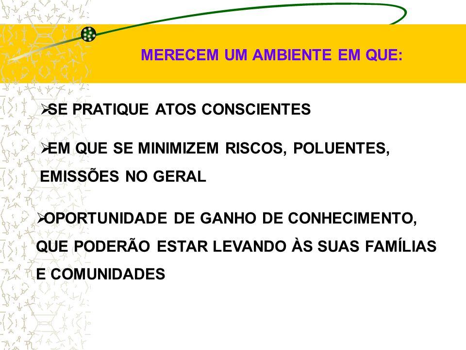 MEIO AMBIENTE QUALIDADE SAÚDE SEGURANÇA OS NOVOS COMPONENTES DAS ORGANIZAÇÕES FCF