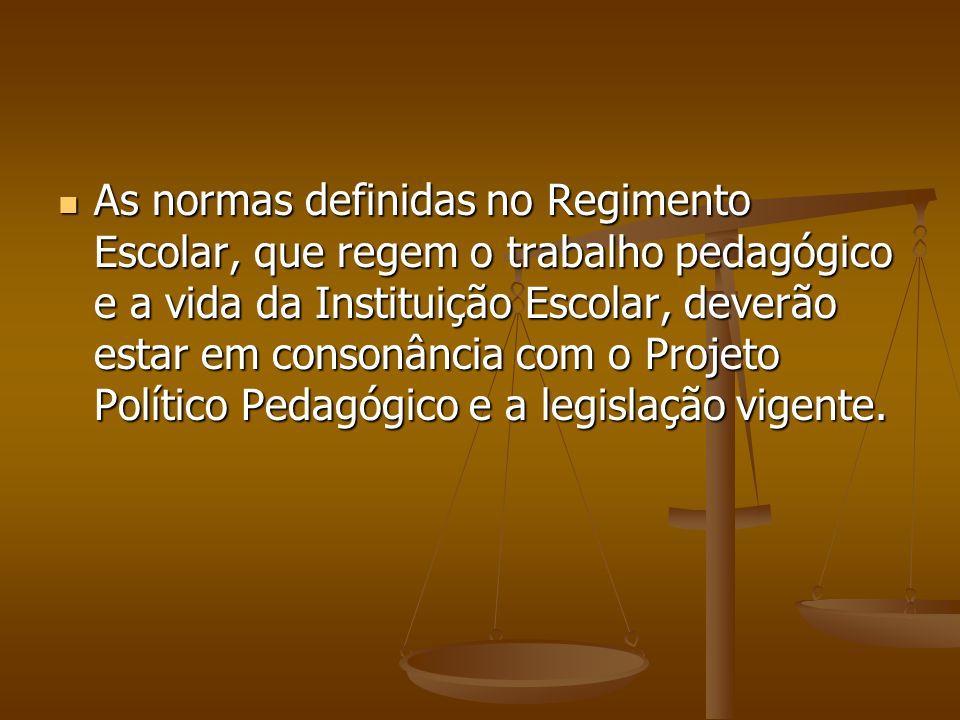 REGIMENTO ESCOLAR LEGISLAÇÃO MUNICIPAL Deliberação CME nº.