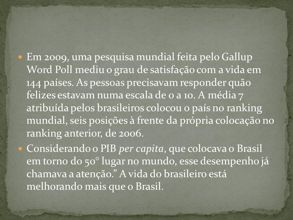 Quando os pesquisadores do Gallup perguntaram sobre a expectativa de felicidade para 2014, o Brasil virou campeão mundial.