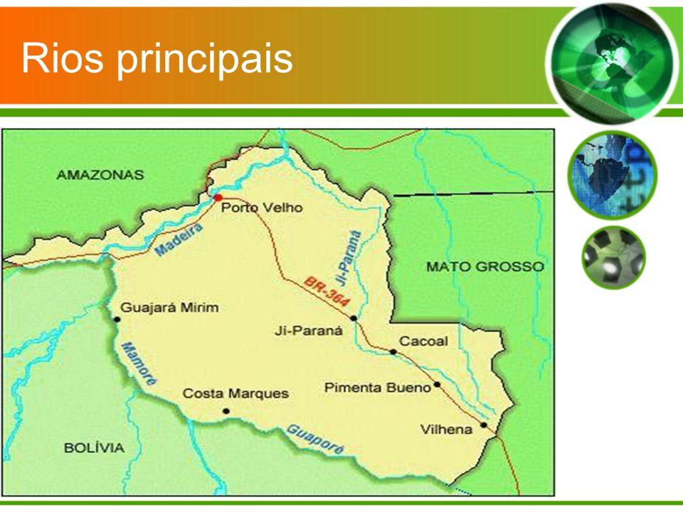 Rios principais