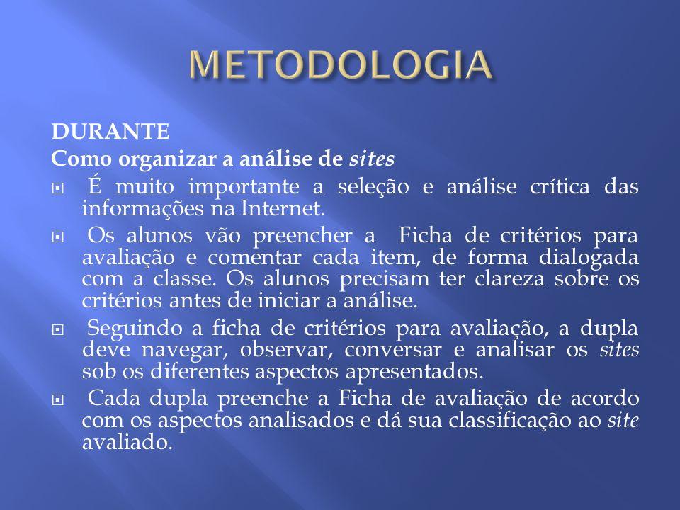 DEPOIS Os alunos vão elaborar uma apresentação no Microsoft Powerpoint sobre: Copa do Mundo 2010 Dengue Pintores (Candido Portinari, Tarsila do Amaral e Pablo Picasso, Zooescola)