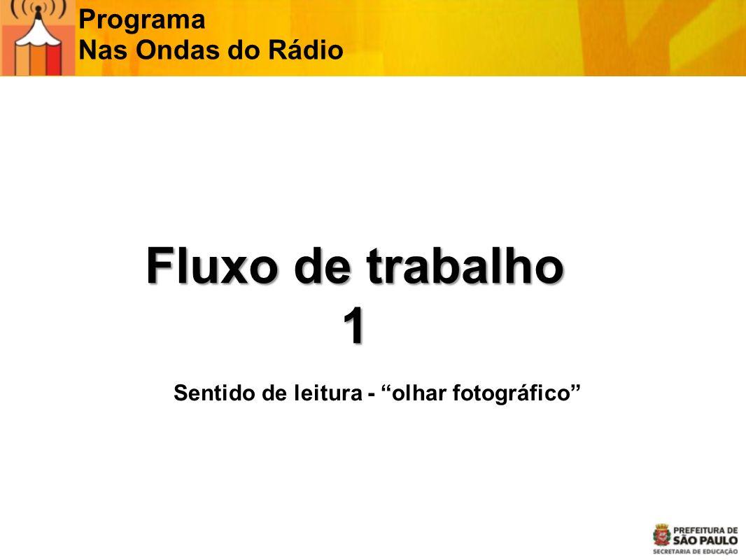 Programa Nas Ondas do Rádio Leitura Esquerda Direita