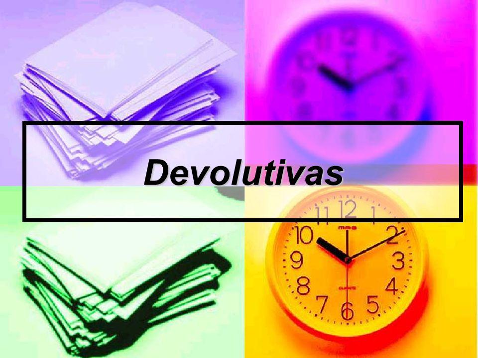 Devolutivas