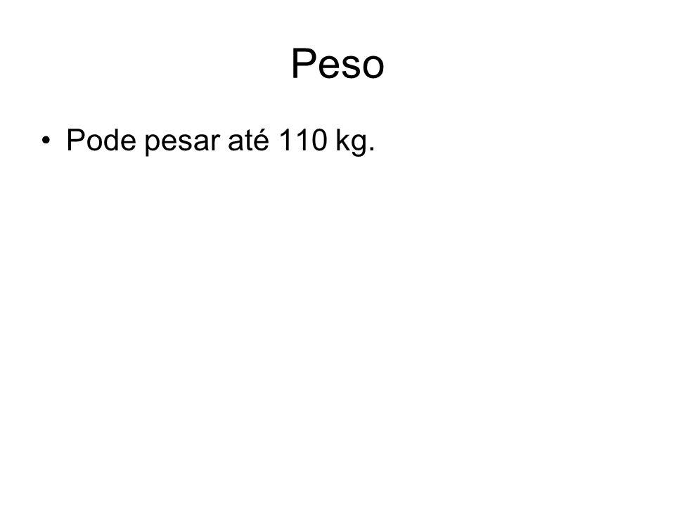 peso Em medida 1 kg algumas espécies podem chegar a 20 kg.
