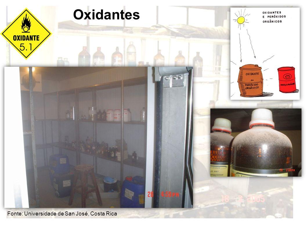 Fonte: Universidade de San José, Costa Rica Oxidantes