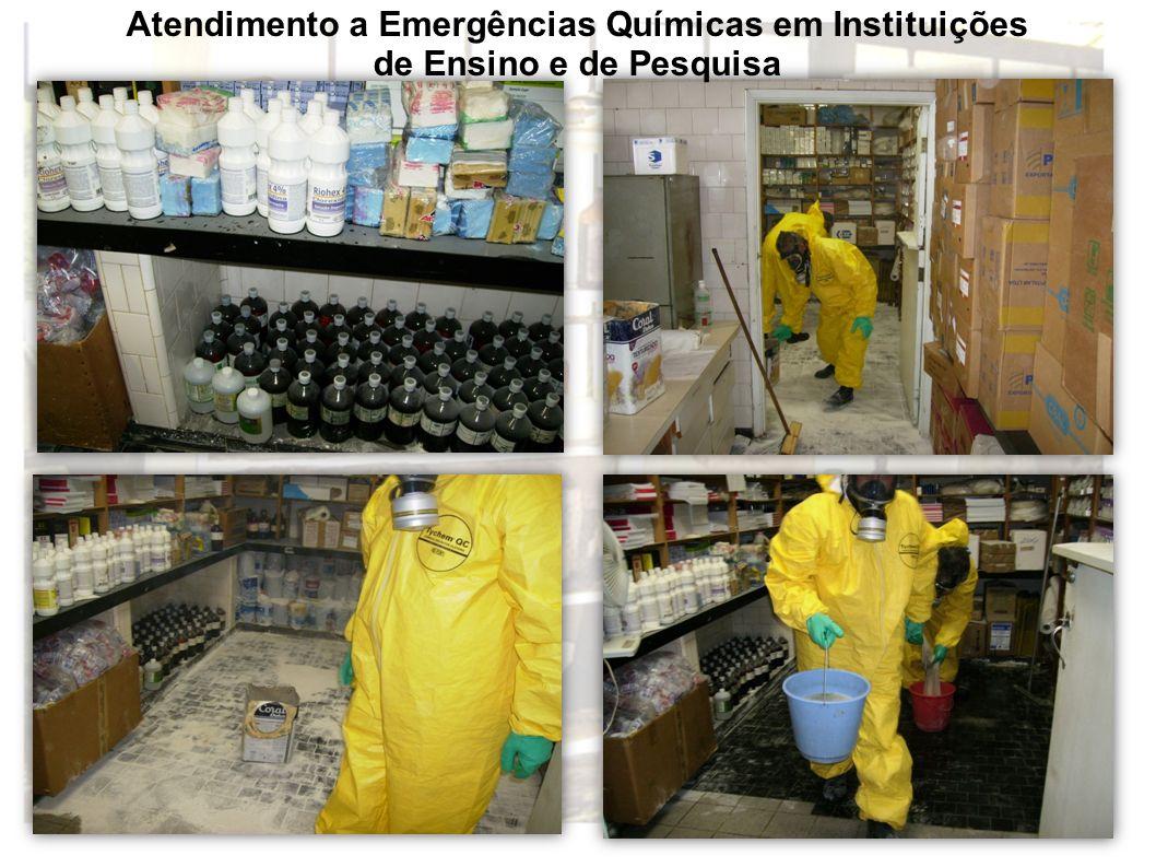 Atendimento a Emergências Químicas em Instituições de Ensino e de Pesquisa