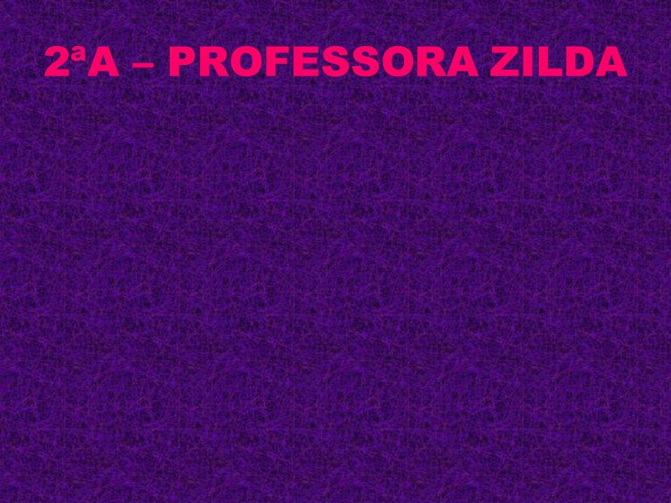 2ªA – PROFESSORA ZILDA