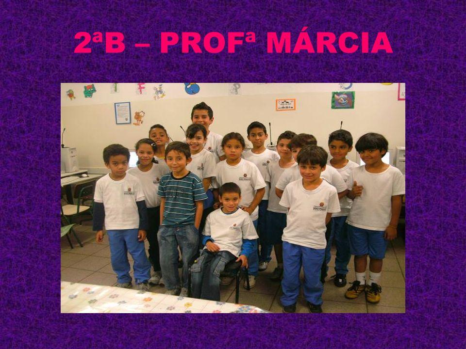 2ªB – PROFª MÁRCIA