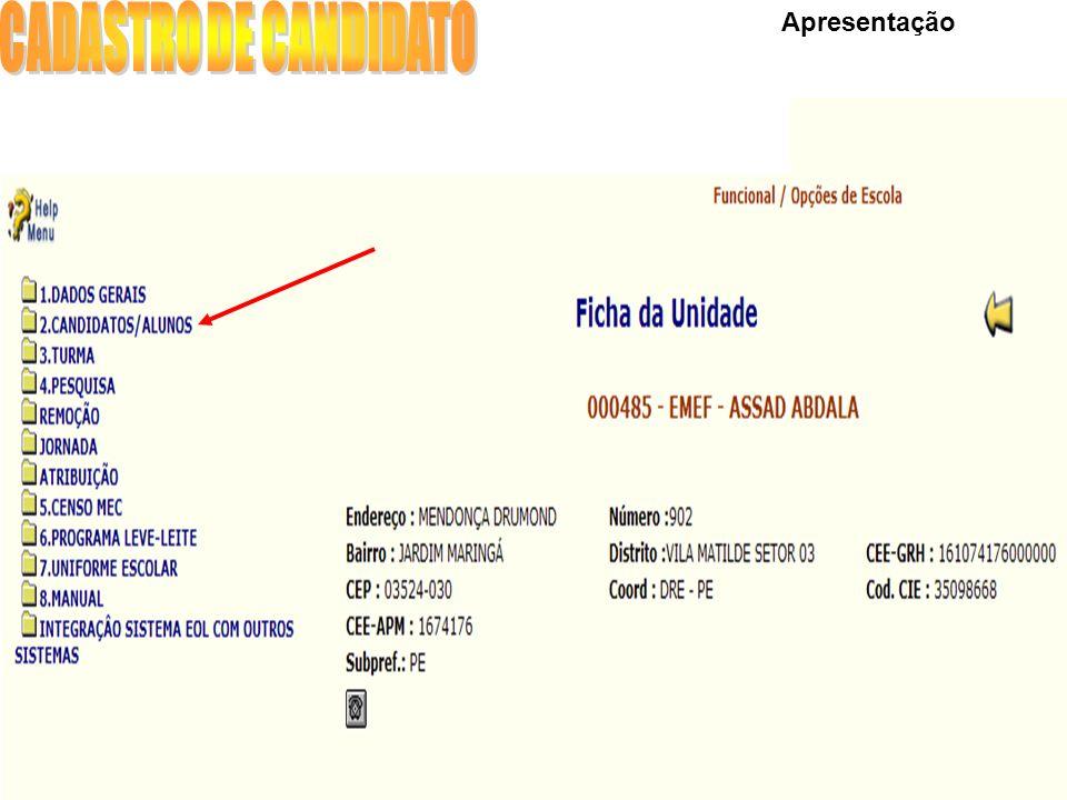 NOVIDADE: SMS 5ª ABA - CONTATOS