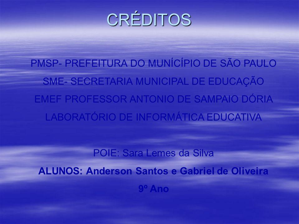 PMSP- PREFEITURA DO MUNÍCÍPIO DE SÃO PAULO SME- SECRETARIA MUNICIPAL DE EDUCAÇÃO EMEF PROFESSOR ANTONIO DE SAMPAIO DÓRIA LABORATÓRIO DE INFORMÁTICA ED