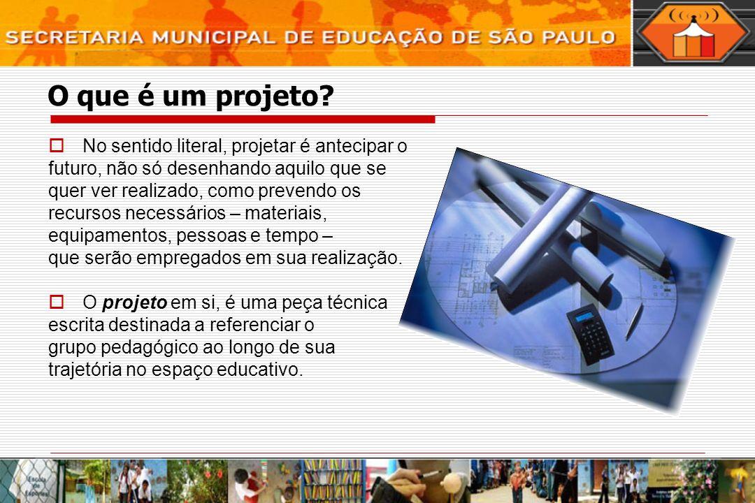 Recursos necessários Todos os projetos devem contar com uma previsão realista dos recursos necessários para a sua implementação.