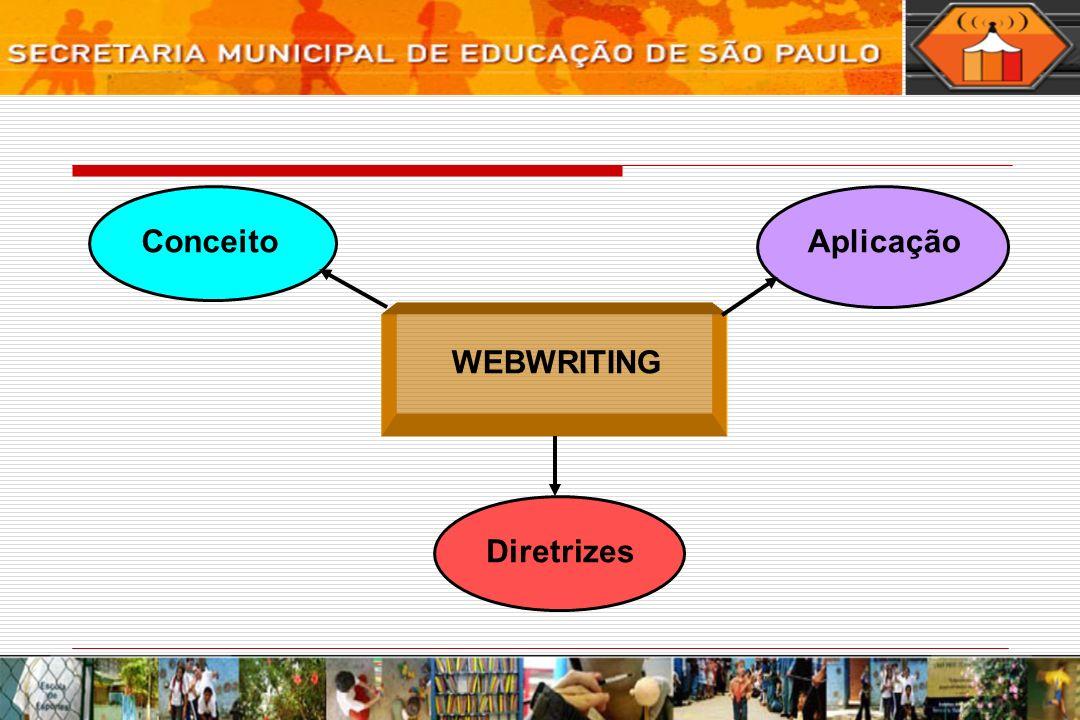 Diretrizes WEBWRITING ConceitoAplicação