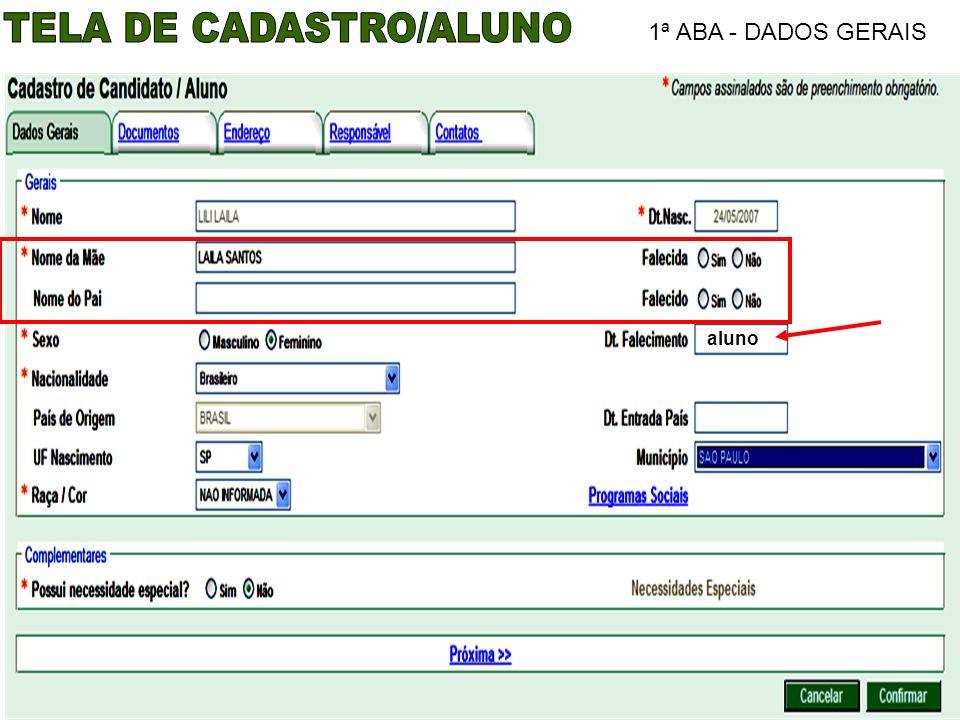 1ª ABA - DADOS GERAIS aluno
