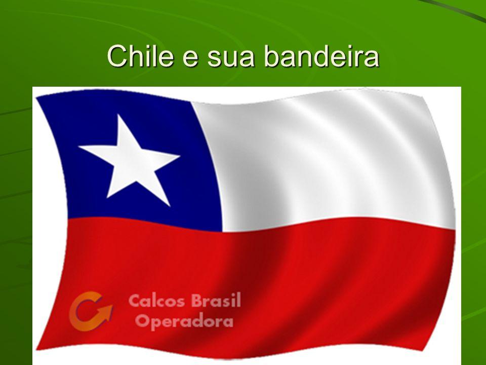 Chile e sua bandeira