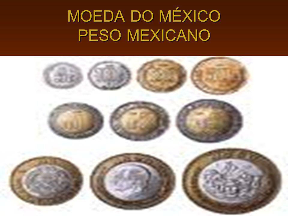 MOEDA DO MÉXICO PESO MEXICANO