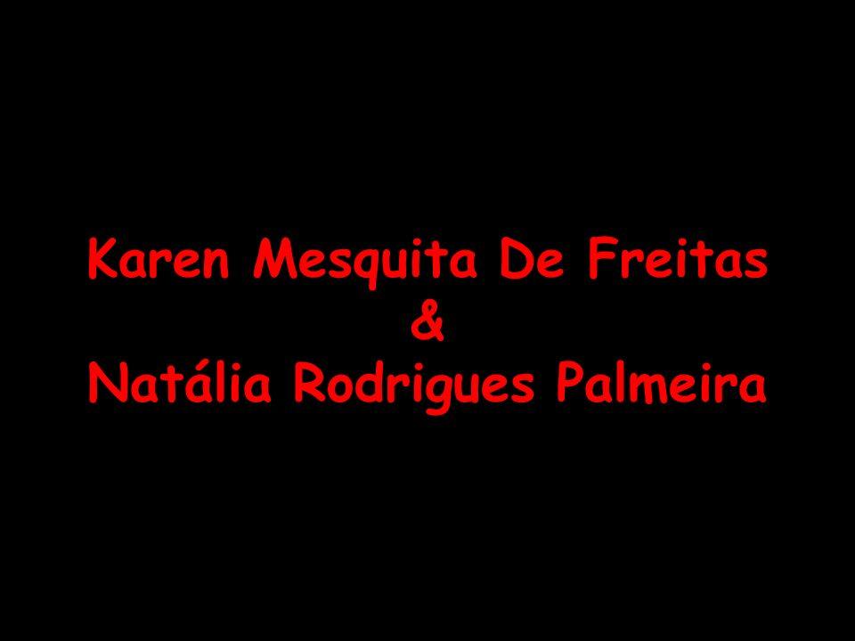 Karen Mesquita De Freitas & Natália Rodrigues Palmeira