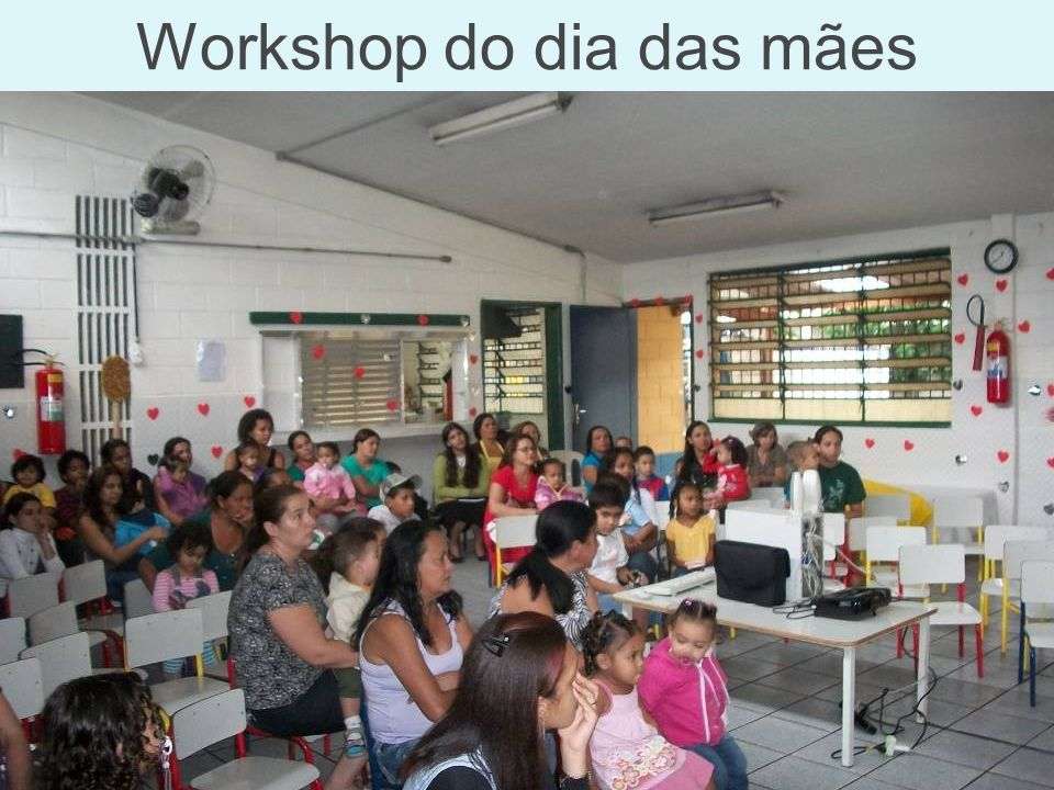 Workshop do dia das mães
