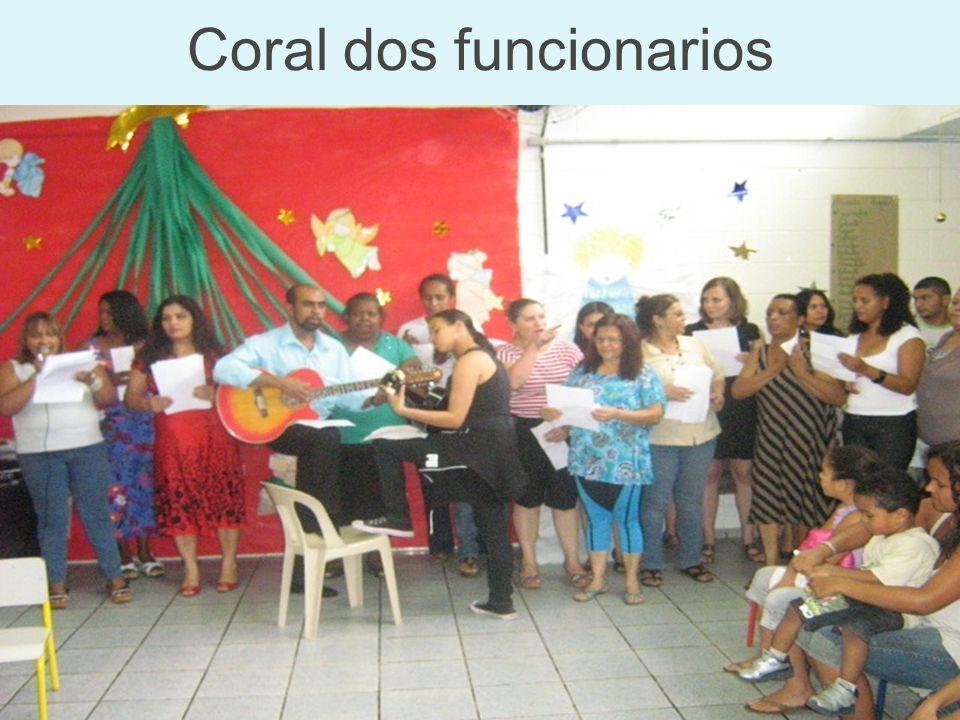 Coral dos funcionarios