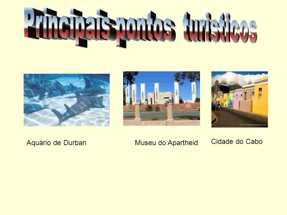 Aquário de Durban Museu do Apartheid Cidade do Cabo