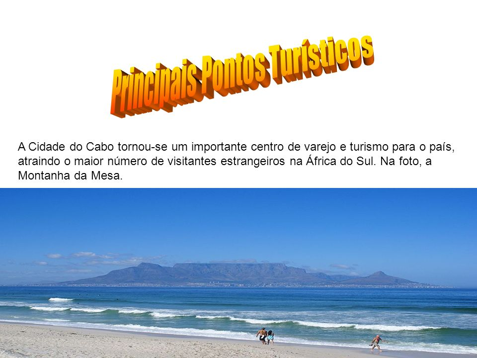 A Cidade do Cabo tornou-se um importante centro de varejo e turismo para o país, atraindo o maior número de visitantes estrangeiros na África do Sul.