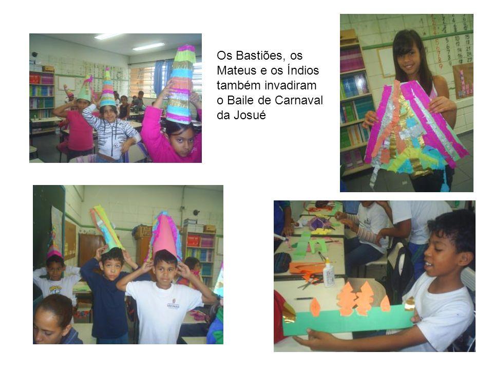 Os Bastiões, os Mateus e os Índios também invadiram o Baile de Carnaval da Josué