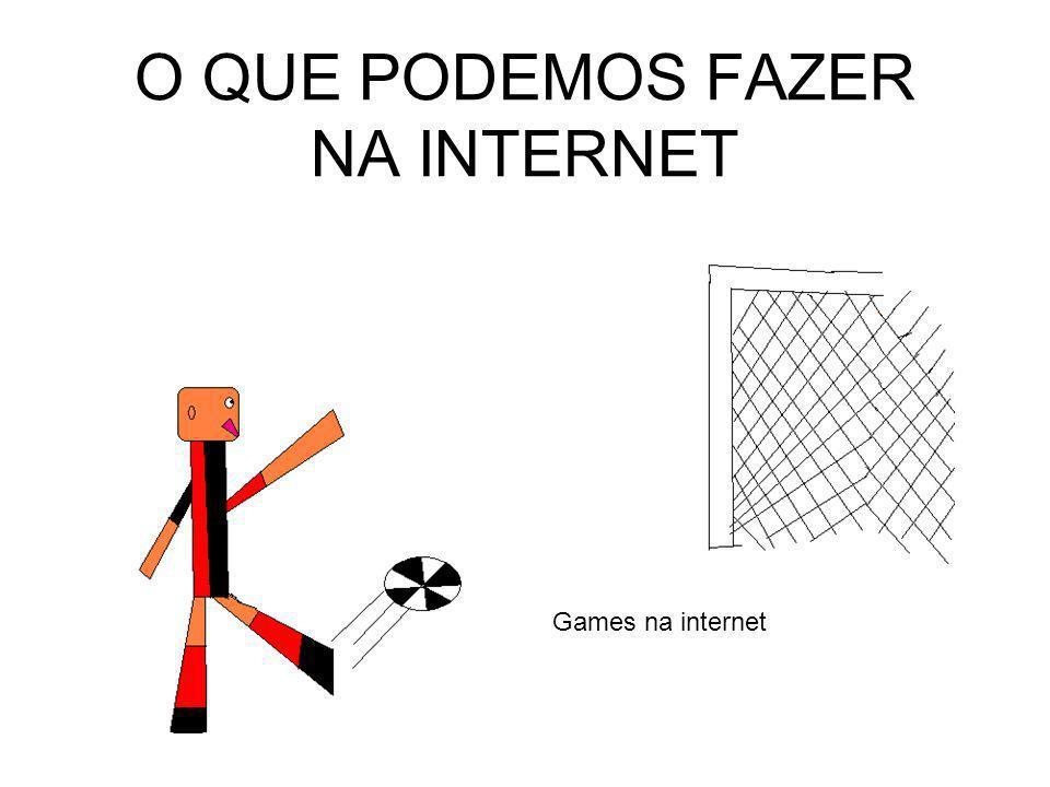 O QUE PODEMOS FAZER NA INTERNET Games na internet