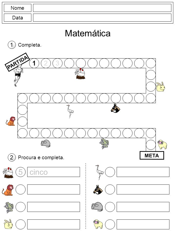 Nome Data Matemática Calcula.