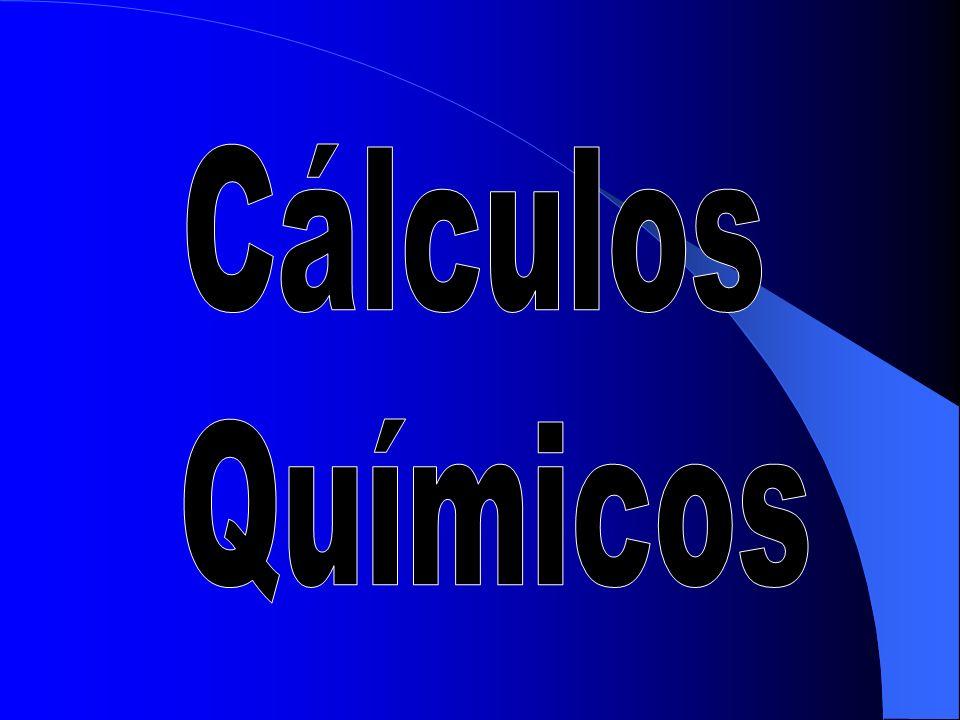Existe uma fórmula que relaciona: Massa atômica (M), n° de mols (n) e massas em gramas (m).