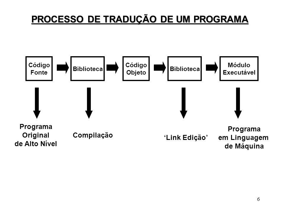 7 Tradução de Programas