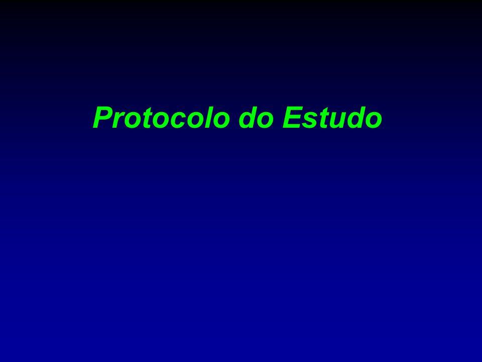 Protocolo do Estudo
