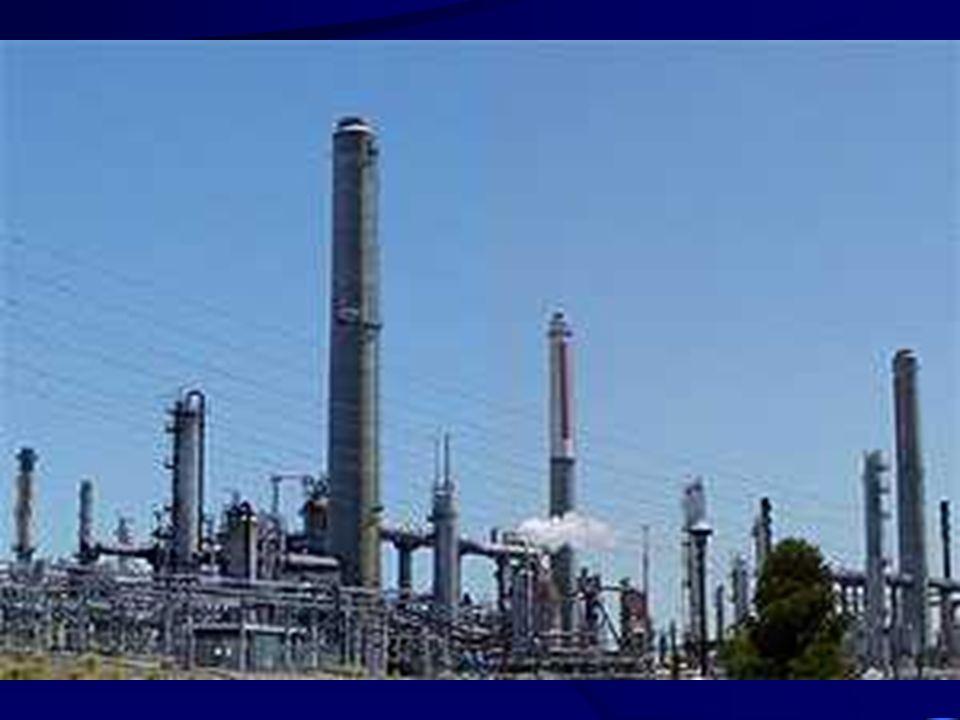 O processo de refino do petróleo
