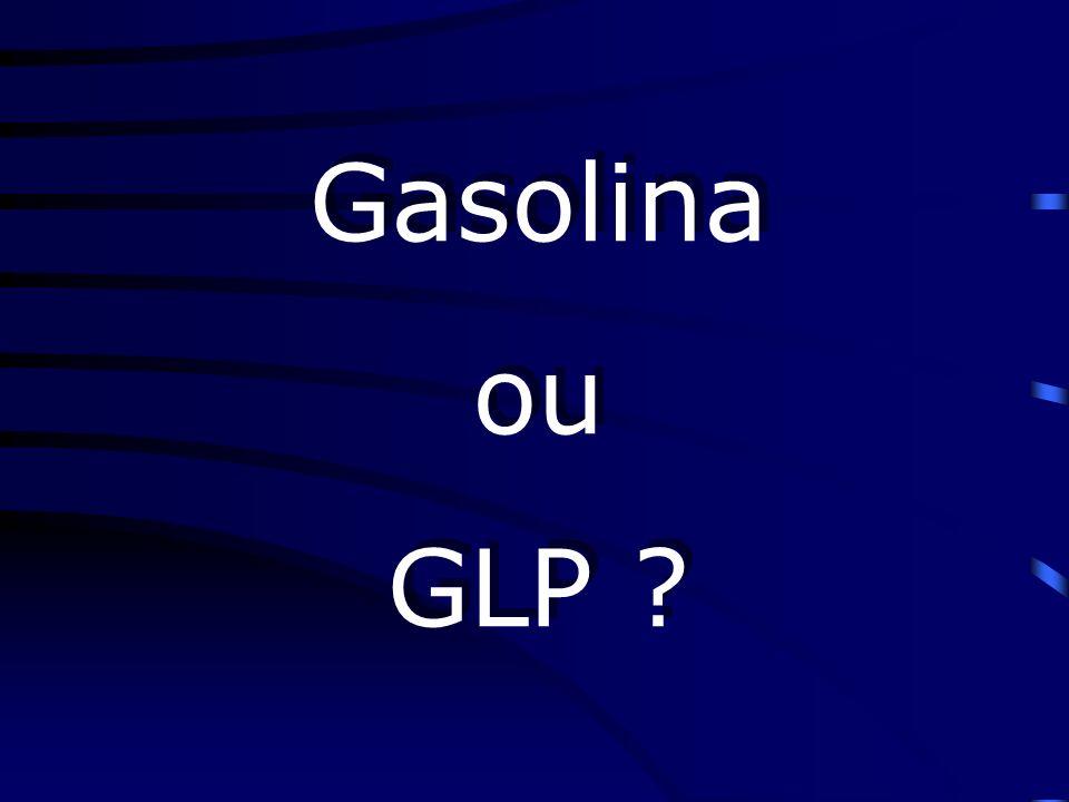 Algumas considerações sobre a gasolina Quanto + ramificada melhor; Tem 2 vezes + poder de comb.