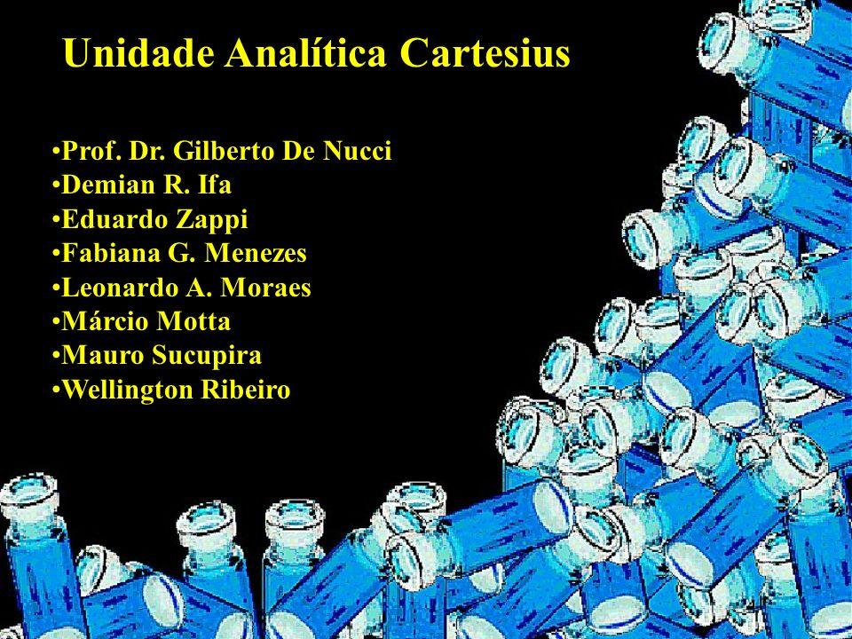 Unidade Analítica Cartesius Prof. Dr. Gilberto De Nucci Demian R. Ifa Eduardo Zappi Fabiana G. Menezes Leonardo A. Moraes Márcio Motta Mauro Sucupira