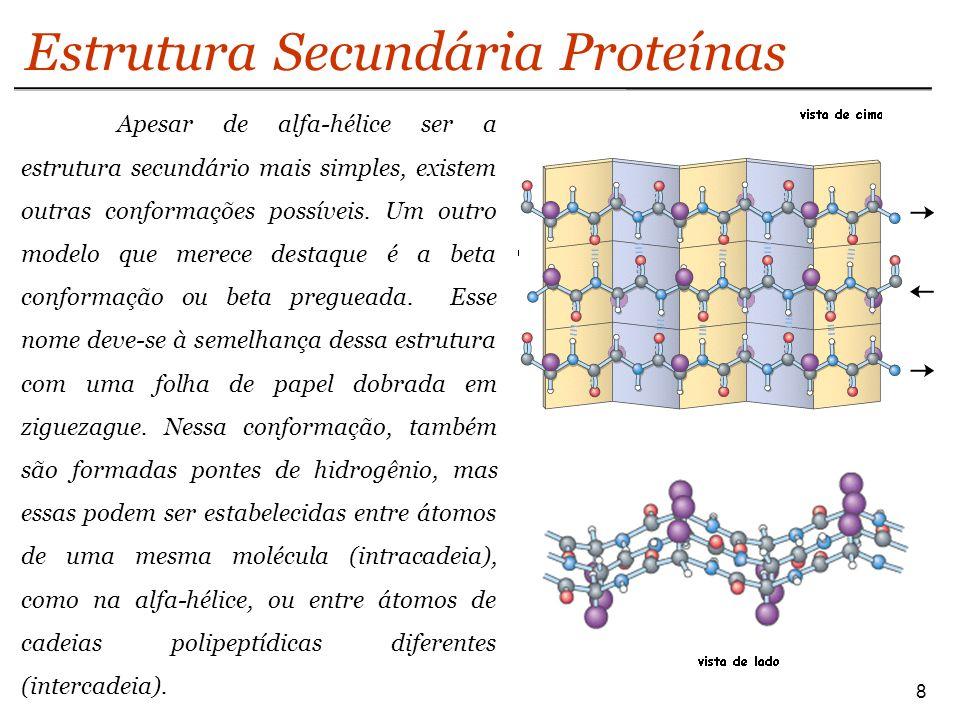 9 Estrutura Secundária Proteínas