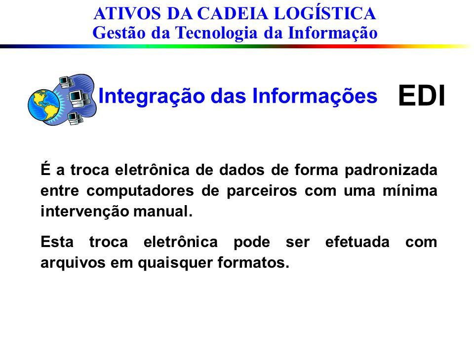 EDI É a troca eletrônica de dados de forma padronizada entre computadores de parceiros com uma mínima intervenção manual. Esta troca eletrônica pode s