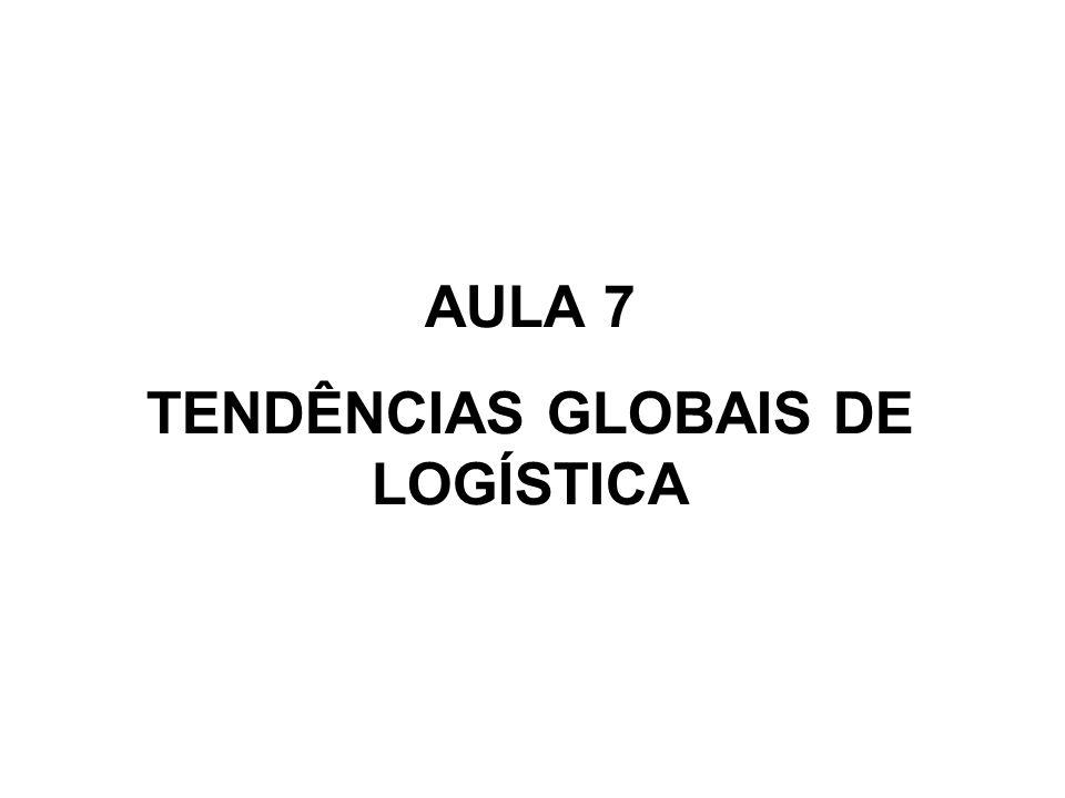 AULA 7 TENDÊNCIAS GLOBAIS DE LOGÍSTICA