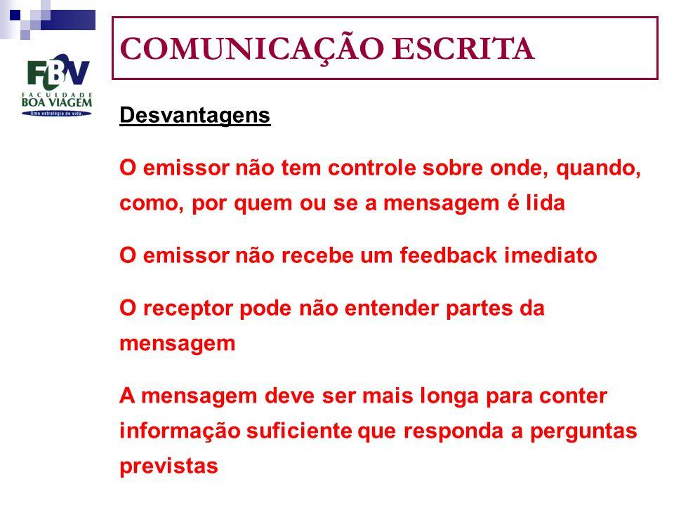 COMO ADMINISTRAR EFICAZMENTE A COMUNICAÇÃO INFORMAL 3.
