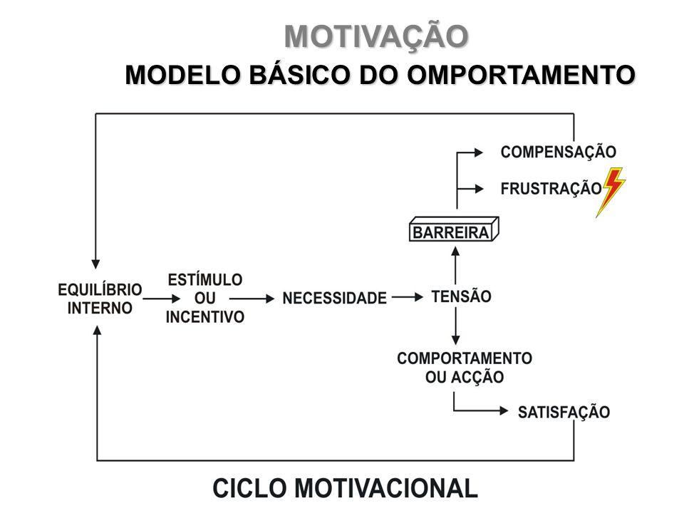 MOTIVAÇÃO MODELO BÁSICO DO OMPORTAMENTO MODELO BÁSICO DO OMPORTAMENTO