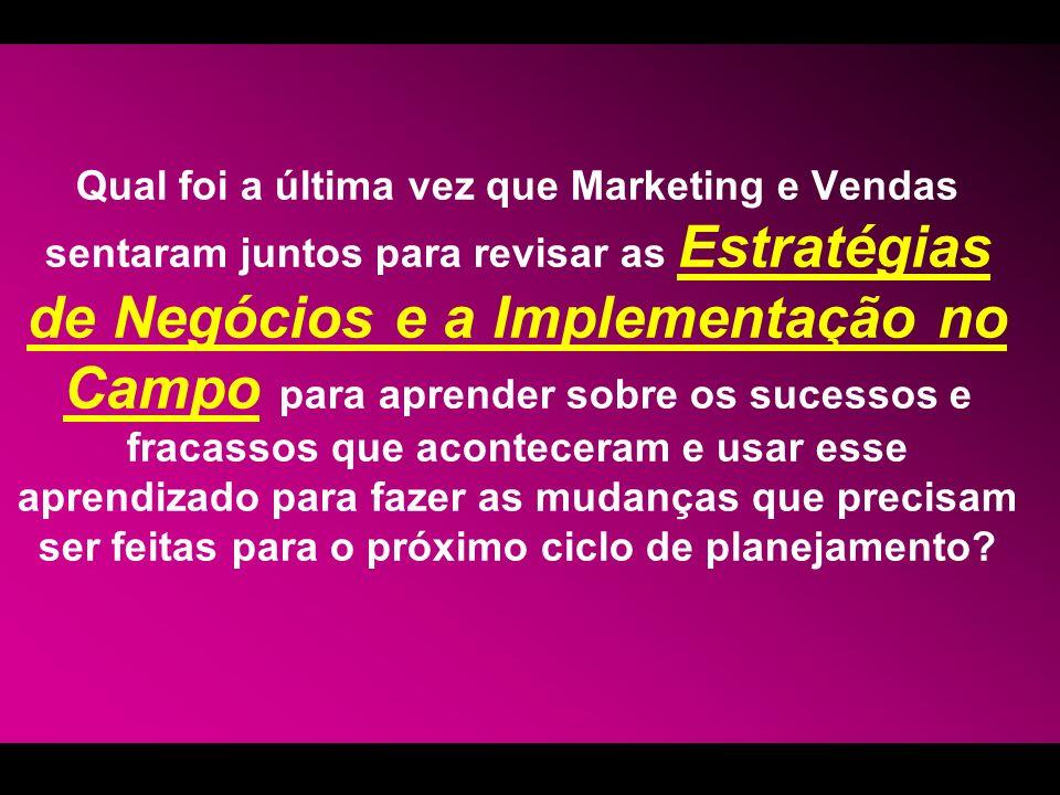 O PLANO DE AÇÃO POR CLIENTE (3 de 3) 6ª PARTE: Análise do Cliente -Qual é a performance do cliente no mercado.
